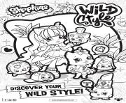 Printable shopkins season 9 wild style 7 coloring pages