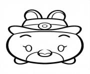 Judy Hops Tsum Coloring Pages