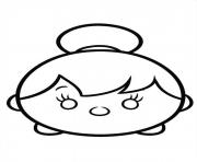 Tinkerbell Tsum Tsum coloring pages