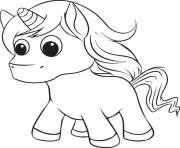 Printable printable unicorn cute coloring pages