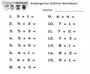kindergarten worksheets printable coloring pages