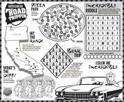 Keep the kids busy with Johns Road Trip coloring pages