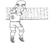 volleyball olympic games coloring pages
