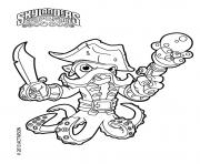 skylanders Fryno Wash Buckler coloring pages