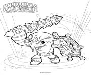 skylanders flip wreck coloring pages