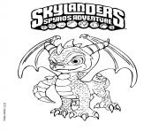 Printable skylanders spyro adventure coloring pages
