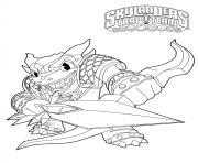 skylanders trap team wildfire snap shot