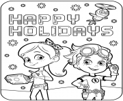 Happy Holidays with Rusty Rivets