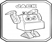 Rusty Rivets Robot Jack coloring pages