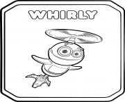 Rusty Rivets Flying Robot