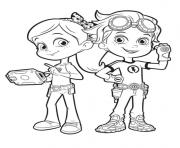 rusty et ruby de rusty rivets enfants