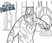Black Panther Coloring Pages To Print Black Panther Printable