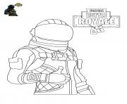 Printable Fortnite Character 4 coloring pages