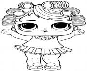 Printable Baby Doll Lol Surprise Dollz coloring pages