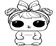 Printable LOL Pets coloring pages