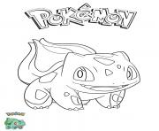 Printable Bulbasaur Pokemon coloring pages