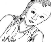 Jojo Siwa Artfan coloring pages