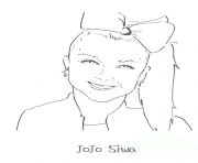 Printable Jojo Siwa coloring pages
