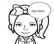 hi im jojo Siwa coloring pages