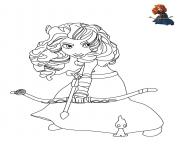 Printable Brave Disney coloring pages
