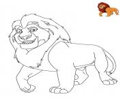 Printable Lion King Disney coloring pages