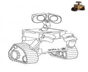 Printable Wall E Disney coloring pages