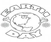 Printable earth day worksheets coloring pages