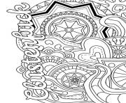 clusterfuck swear word coloring pages