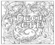 fuck off im coloring swear word coloring pages