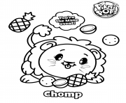 Pikmi Pops Skittle coloring pages