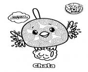 Pikmi Pops Bird Chata coloring pages