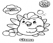 Pikmi Pops Glama coloring pages