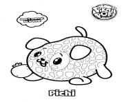 Pikmi Pops Dog Pichi coloring pages