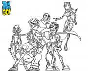 teen titans go all team