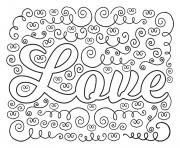 Printable love happy mothers day coloring pages