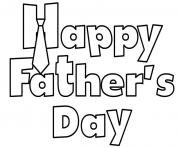 Printable happy fathers day sheet coloring pages