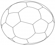 football ball soccer coloring pages