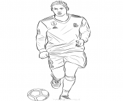 Printable raphael varane fifa world cup football coloring pages
