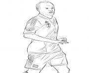 andres iniesta fifa world cup football coloring pages