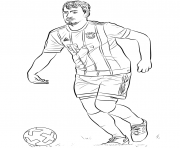 mats hummels fifa world cup football coloring pages