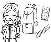 Printable welcome to school coloring pages
