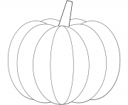 Printable pumpkin halloween coloring pages
