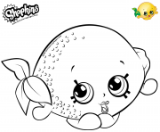 Printable Cartoon Lemon Toy coloring pages