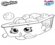 Printable Raspberries Shopkins coloring pages