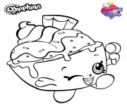 Printable Shopkins Ice Cream Cup coloring pages