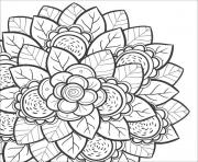 mandala flower for teens