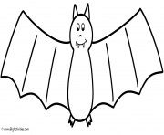 bertmilne bat halloween coloring pages
