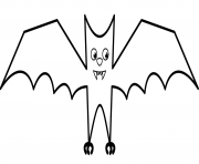 cartoon vampire bat halloween coloring pages