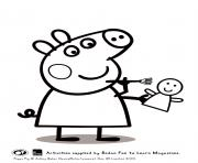 peppa is painting activity peppa pig