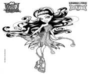 spectra vondergeist monster high coloring pages